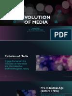 Lesson 2 - Evolution of Media