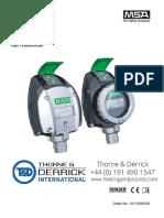 MSA PrimaX P Gas Transmitter User Manual