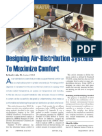 Designing Air-Distribution Systems to Maximize Comfort