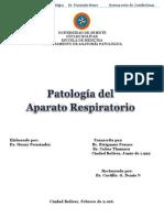 patologías del sistema respiratorio