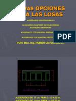 1.4. Elementos Estructurales LOSAS DRYWALLS