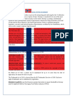 Legal System in Norway