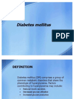 Diabeties mellitus