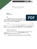 [Model] Contract Cazare - Persoana Juridica