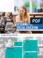 Design for Special Education