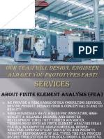 FEA Analysis & Consulting Services