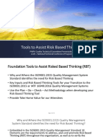 Pmpa Tools to Assist Risk Based Thinking 042318 Updated