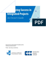 Maximizing Success in Integrated Delivery Owners Guide v1.0