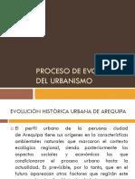 Proceso de Evolución Del Urbanismo