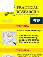 Quantitative Research Variables