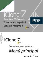 IClone 7 Tutorial Español