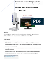 Auto focus video Microscope VM-500