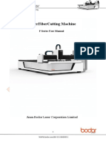 Laser Fiber Cutting Machine-F Series User Manual