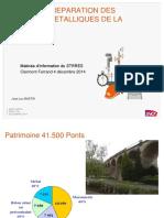 Gestion Et Réparation Des Ouvrages Métalliques de La SNCF