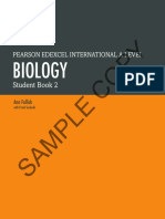 Edexcel IAL A2 Biology New Textbook Sample Pages