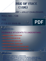 CHANGE OF VOICE (106) - JOLLY CHAUDHARI - ROLL NO - 128 - Copy.pptx