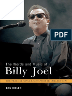 Billy Joel - The Words And Music