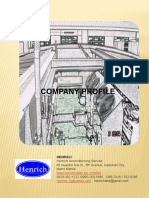 COMPANY PROFILE 1A of Henrich Airconditioning Service 2019