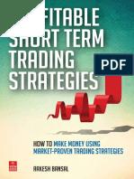Profitable Short Term Trading Strategies