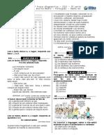 3ª P.D - 2013 - (Port. 3ª Série E.M - Blog Do Prof. Warles)