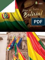 "Programa de Festejos ""6 de Agosto 2019"""