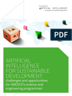 Artificial Intelligence for Sustainable Development Challenges and Opportunities for UNESCO's Science and Engineering Programmes