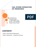 Retail Store Operation Management Briefly Research PPT