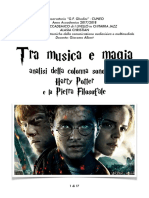 "Tesi - ""Tra musica e Magia"""
