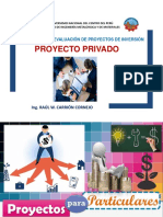 Sesión v - Vi Fepi Proyecto Privado