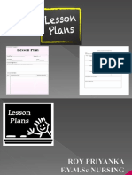 Ppt on Lesson Plan