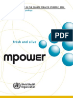 Tobacco Free Initiative Mpower Report Full 2008