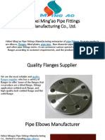 Hebei Ming'Ao Pipe Fittings Manufacturing Co