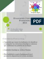 Evaluación Conciencia Fonológica 2015.pptx