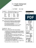 Unit 3-Language Focus