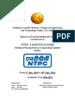 Kirshant Roll 11 Industrial Report