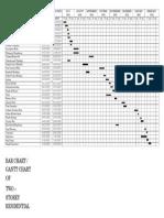 Gantt Chart a3