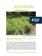 Lemongrass For Cancer Patients