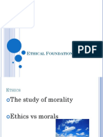 Ethical foundation