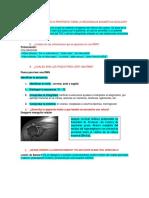 Qué Función o Propósito Tiene La Resonancia Magnética Nuclear