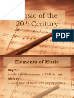 Q1 Music of the 2oth Century
