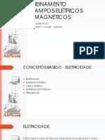 Treinamento - Campos elétricos e magnéticos