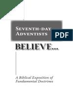 SDA's Believe