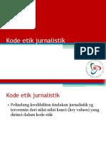 5 Kode Etik Jurnalistik