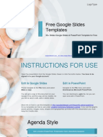 Medical Doctor With Stethoscope Google Slides & PowerPoint Template