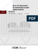 Republic of Moldova at the European Court of Human Rights in 2017