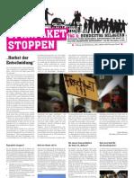 """Zeitung """"Sparpaket stoppen"""""""