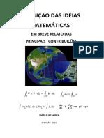Evolução das ideias matemáticas