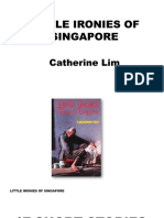 Little Ironies of Singapore Catherine Lim