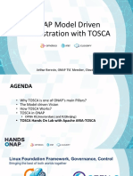 ONAP Model Driven Orchestration With TOSCA[HANDS ONAP]