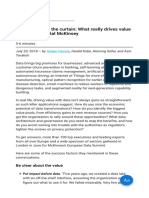 Looking Behind the Curtain What Really Drives Value From Data Digital McKinsey